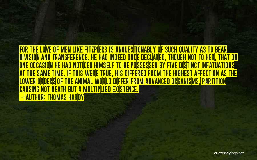 Possessed Love Quotes By Thomas Hardy