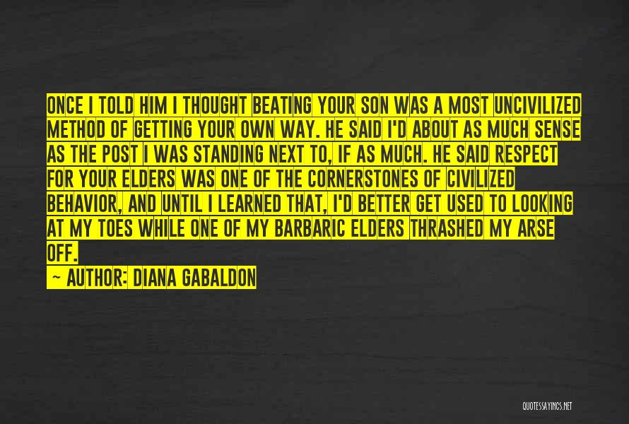Post Your Own Quotes By Diana Gabaldon