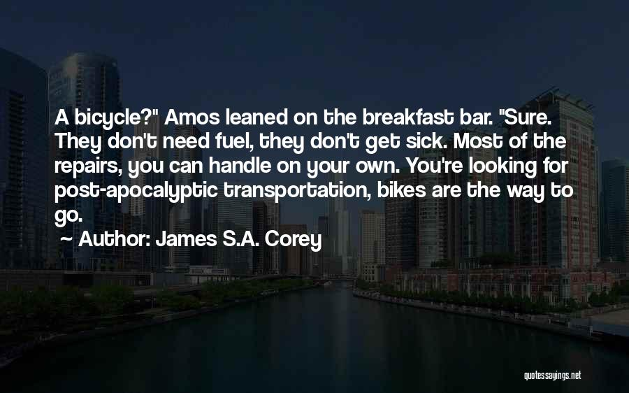 Post Your Own Quotes By James S.A. Corey