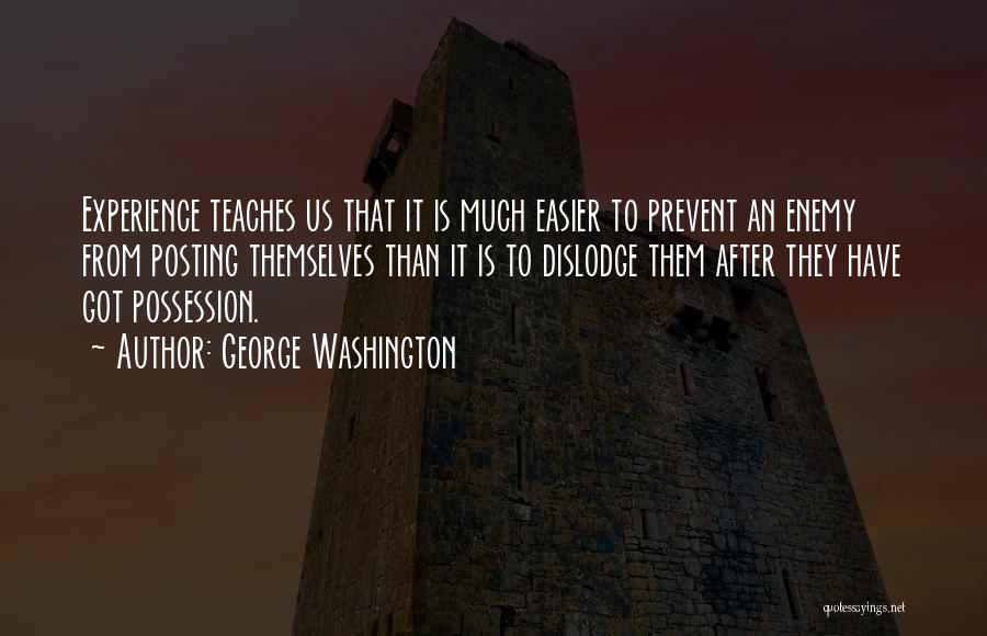 Posting Things Quotes By George Washington
