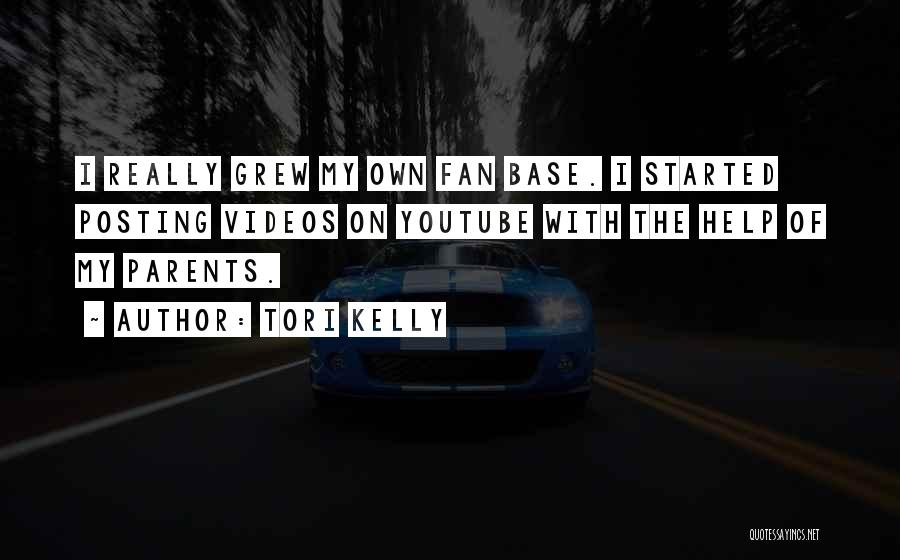 Posting Things Quotes By Tori Kelly