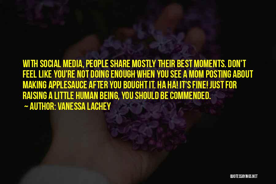 Posting Things Quotes By Vanessa Lachey