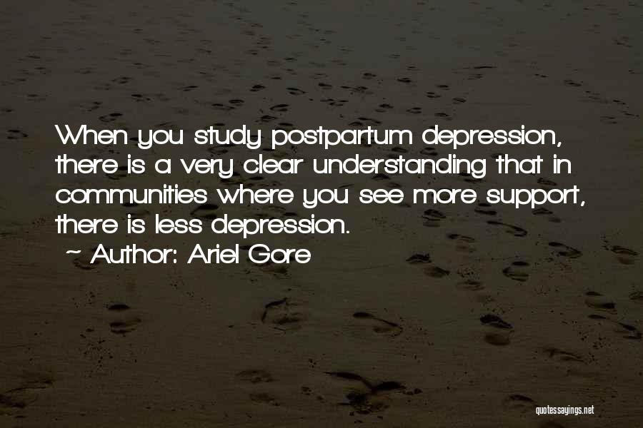 Top 10 Quotes & Sayings About Postpartum Depression