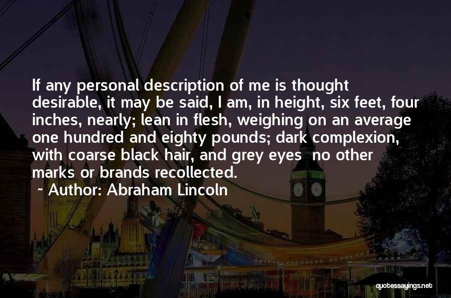 Pounds Quotes By Abraham Lincoln