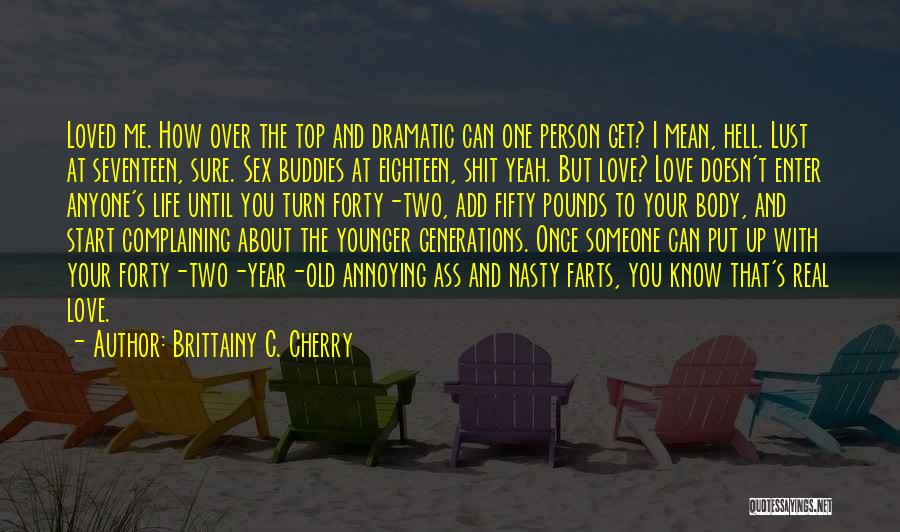 Pounds Quotes By Brittainy C. Cherry