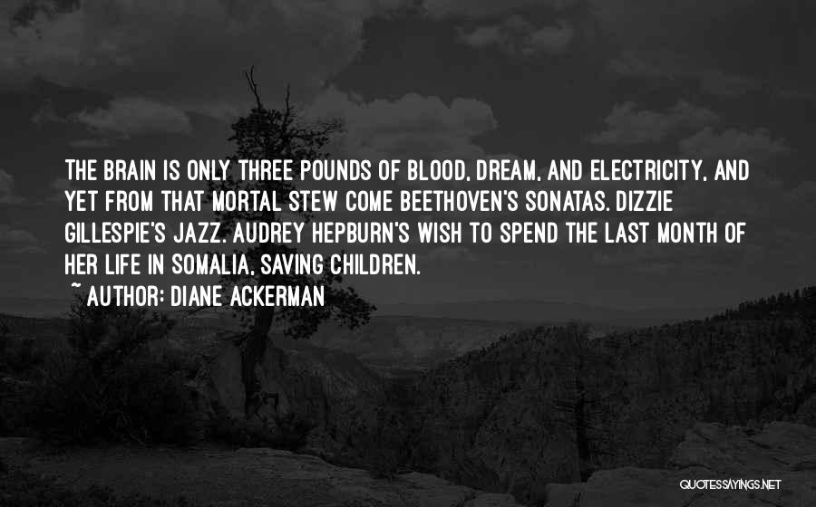 Pounds Quotes By Diane Ackerman
