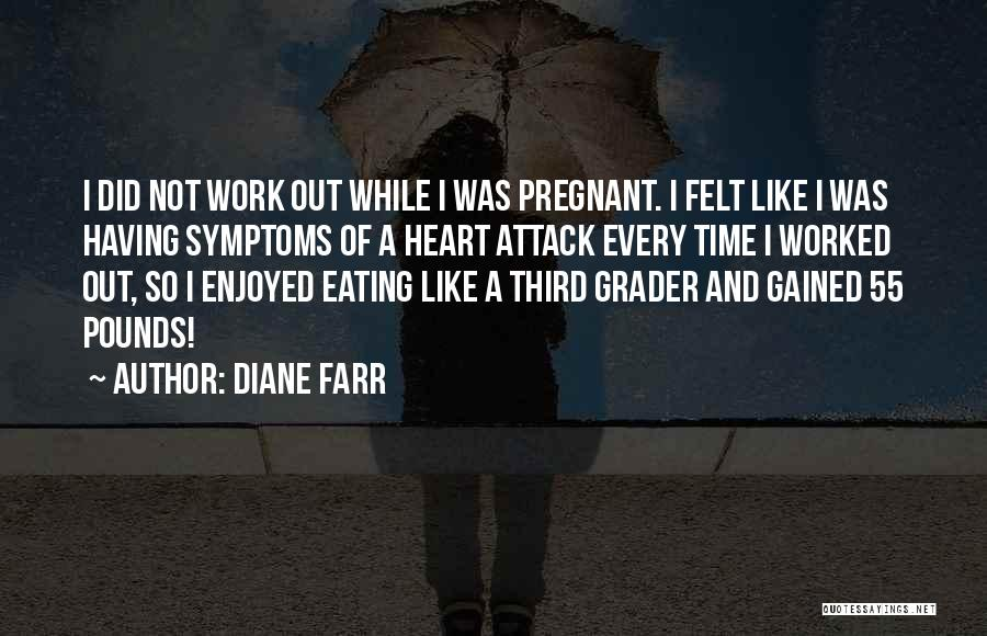 Pounds Quotes By Diane Farr