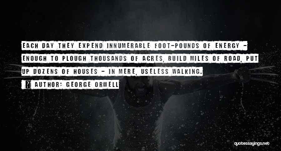 Pounds Quotes By George Orwell