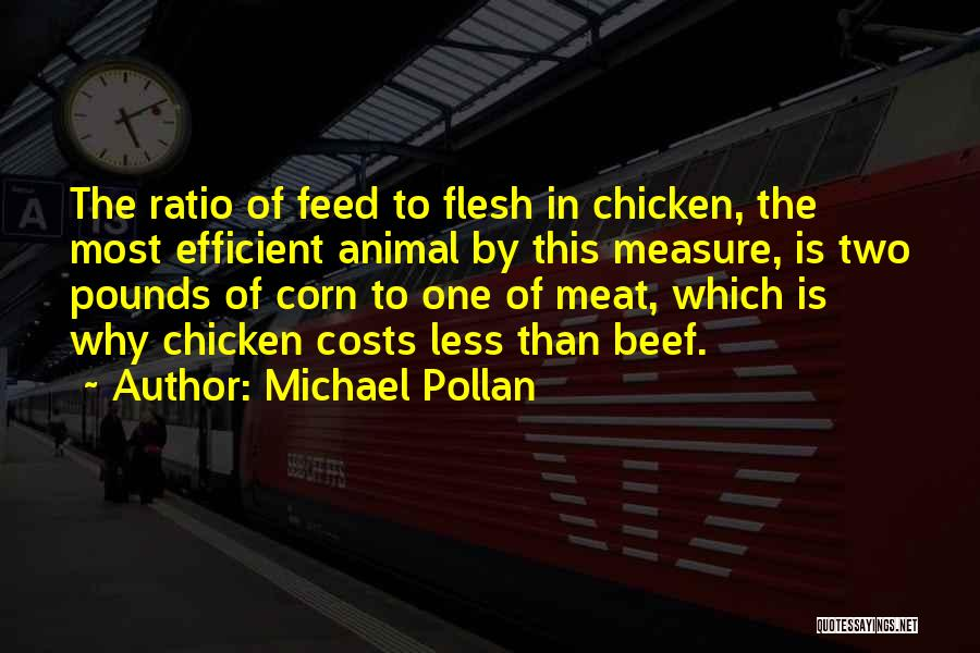 Pounds Quotes By Michael Pollan