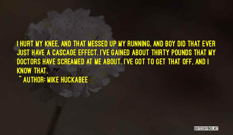 Pounds Quotes By Mike Huckabee