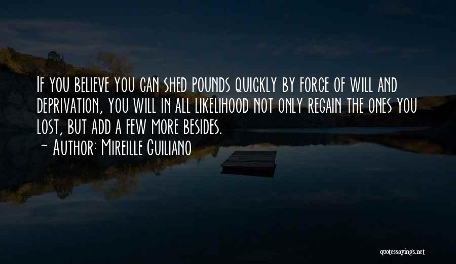 Pounds Quotes By Mireille Guiliano