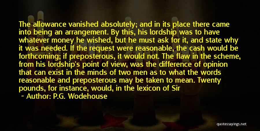 Pounds Quotes By P.G. Wodehouse