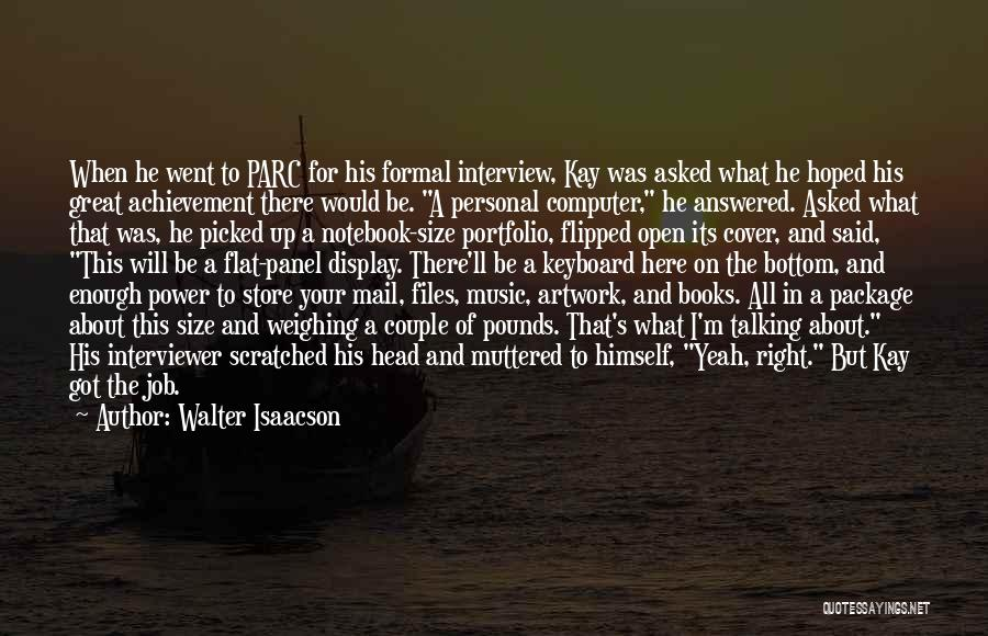 Pounds Quotes By Walter Isaacson
