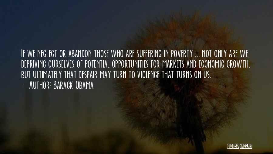 Poverty Quotes By Barack Obama