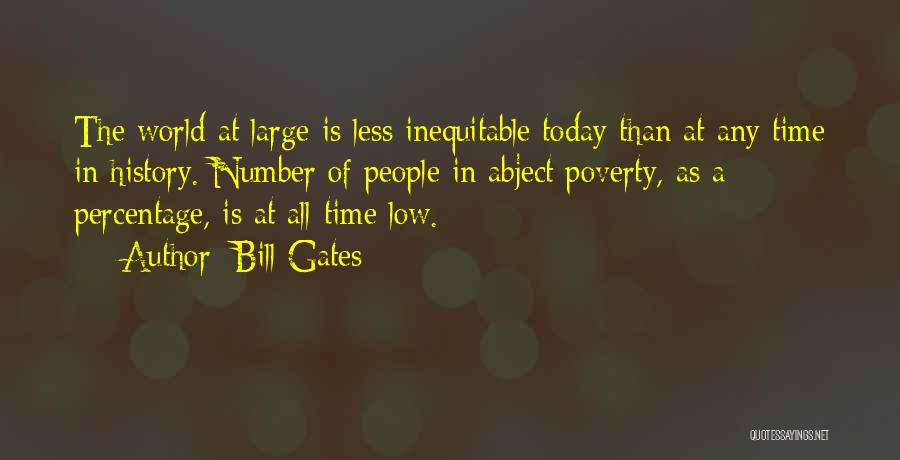 Poverty Quotes By Bill Gates