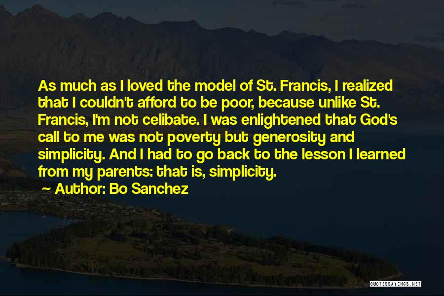 Poverty Quotes By Bo Sanchez
