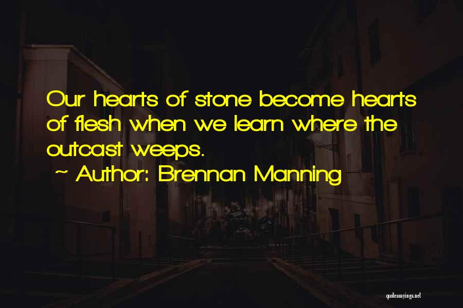 Poverty Quotes By Brennan Manning