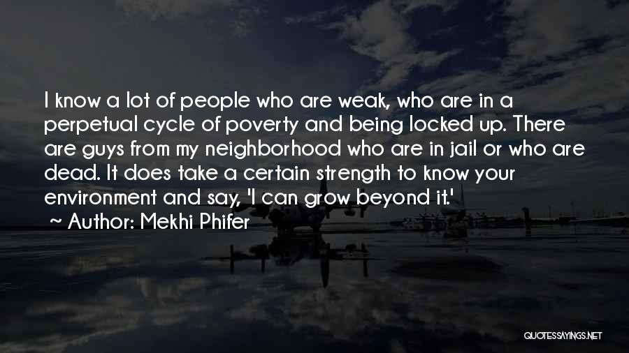 Poverty Quotes By Mekhi Phifer