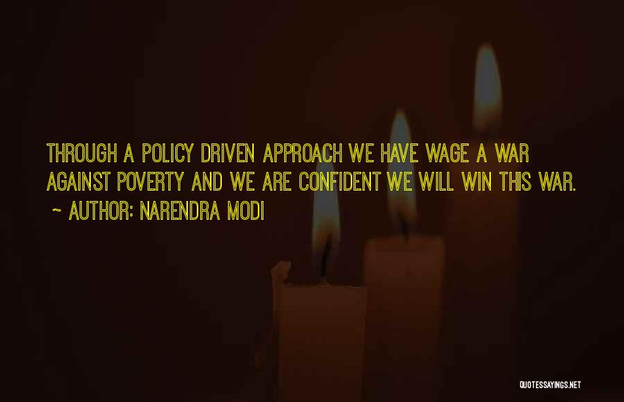 Poverty Quotes By Narendra Modi