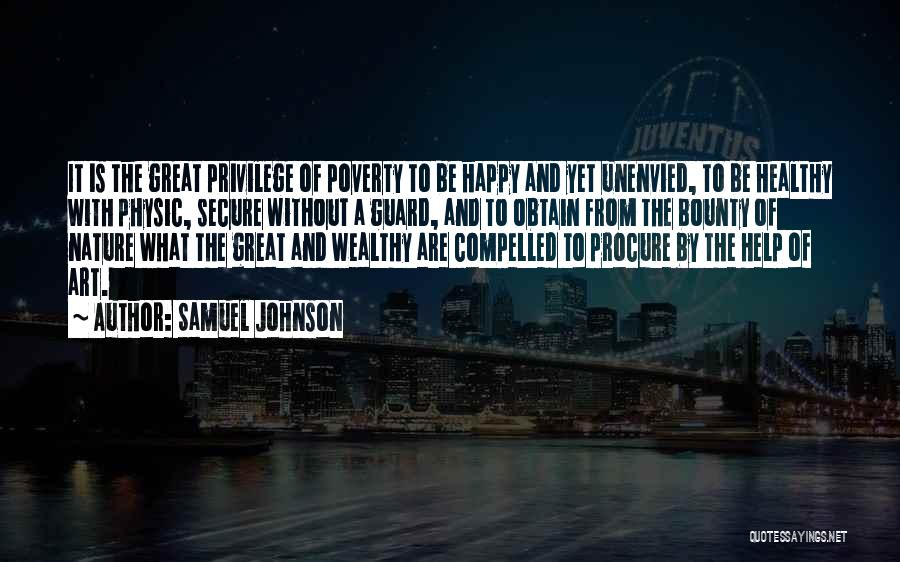 Poverty Quotes By Samuel Johnson