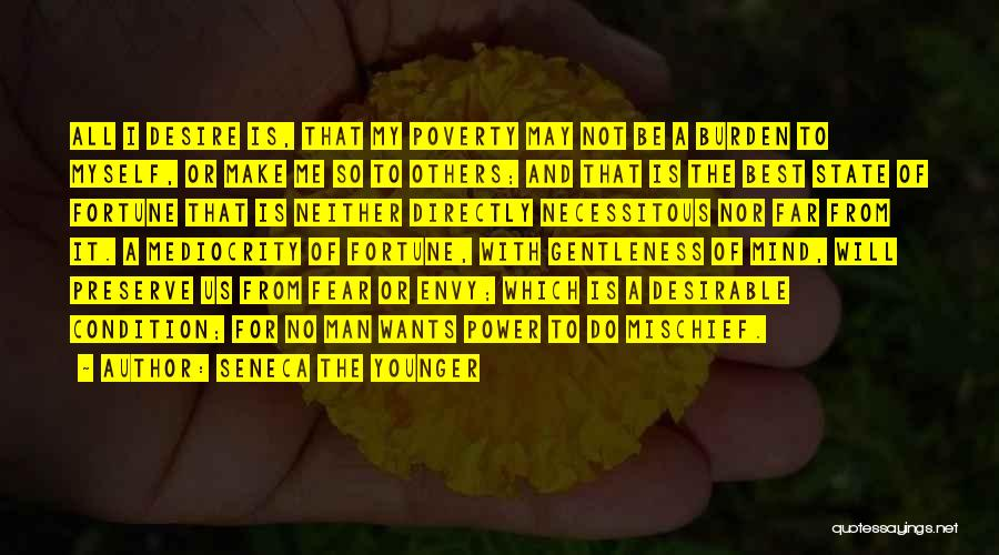 Poverty Quotes By Seneca The Younger