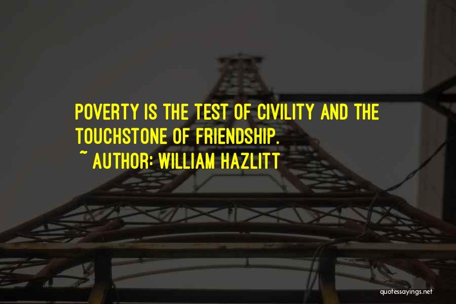Poverty Quotes By William Hazlitt