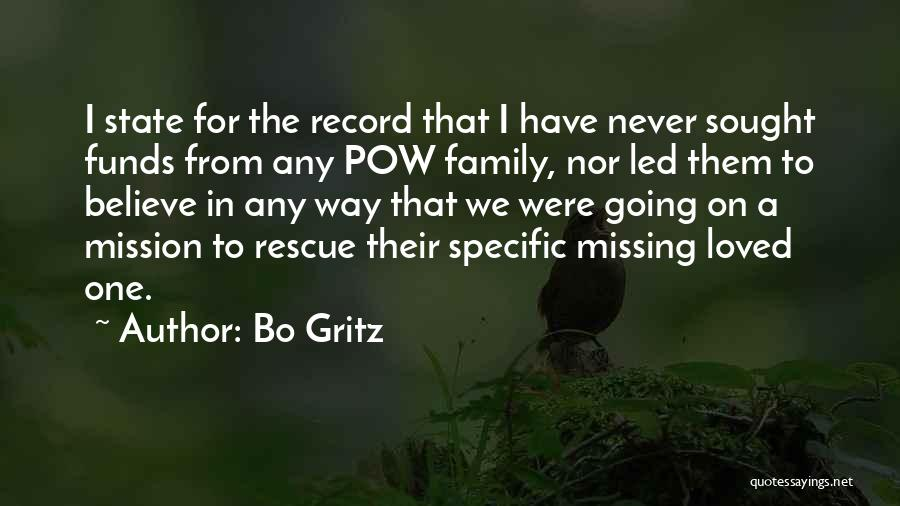 Pow Quotes By Bo Gritz