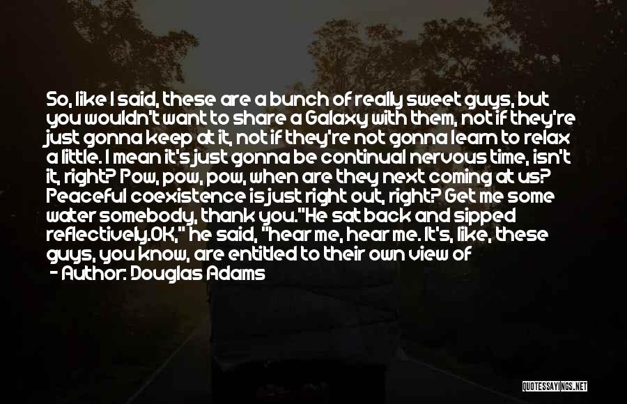 Pow Quotes By Douglas Adams