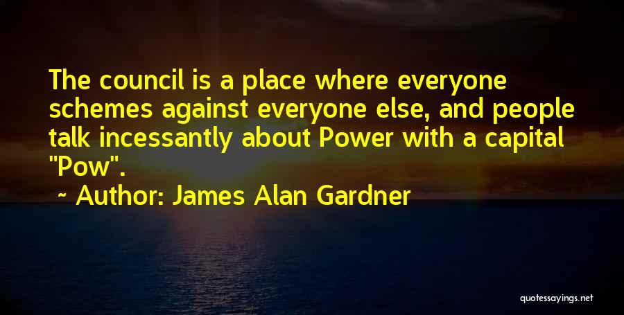 Pow Quotes By James Alan Gardner
