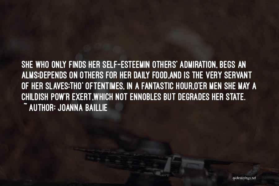 Pow Quotes By Joanna Baillie