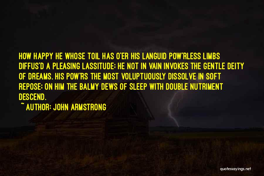 Pow Quotes By John Armstrong