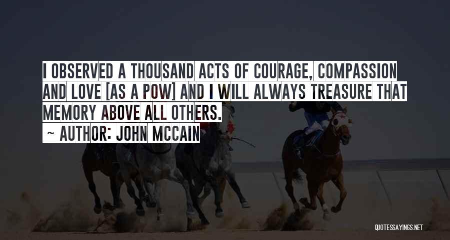 Pow Quotes By John McCain