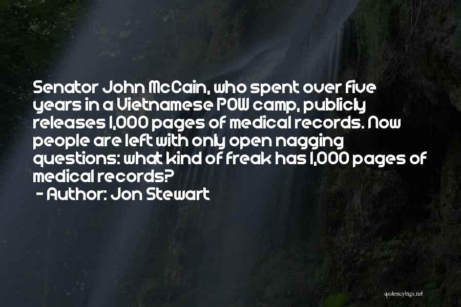 Pow Quotes By Jon Stewart