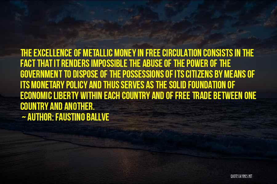 Power And Abuse Quotes By Faustino Ballve