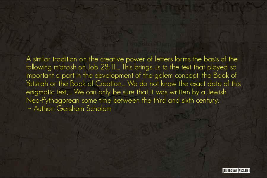 Power And Abuse Quotes By Gershom Scholem