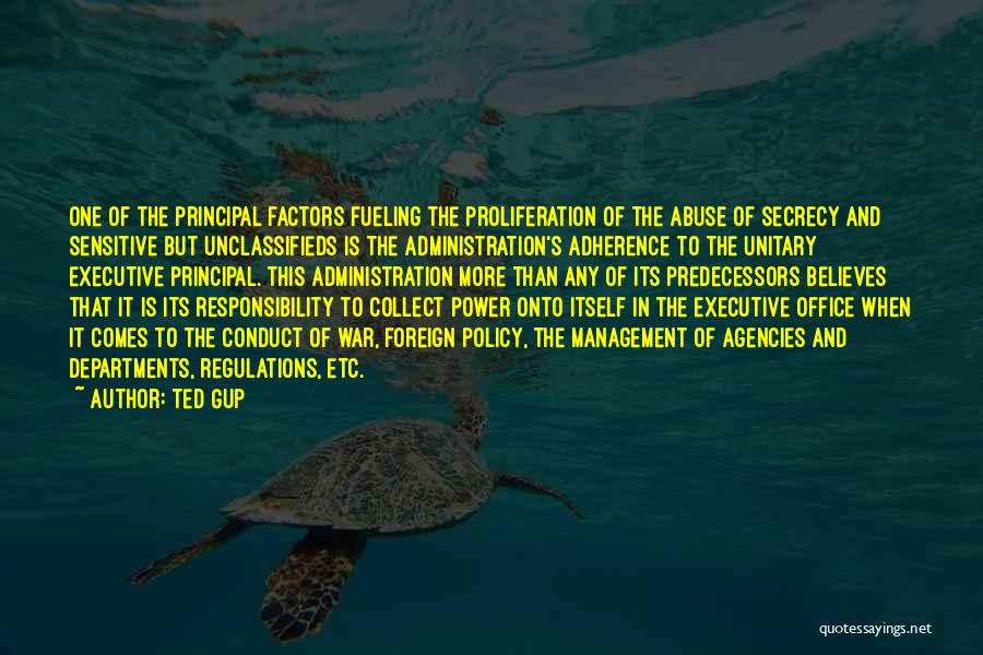 Power And Abuse Quotes By Ted Gup