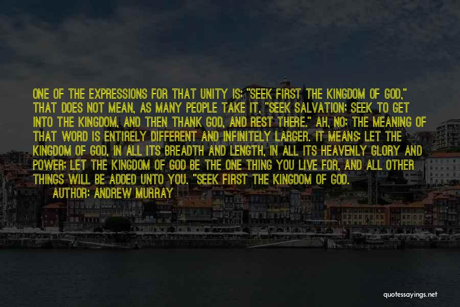 Power And Glory Quotes By Andrew Murray