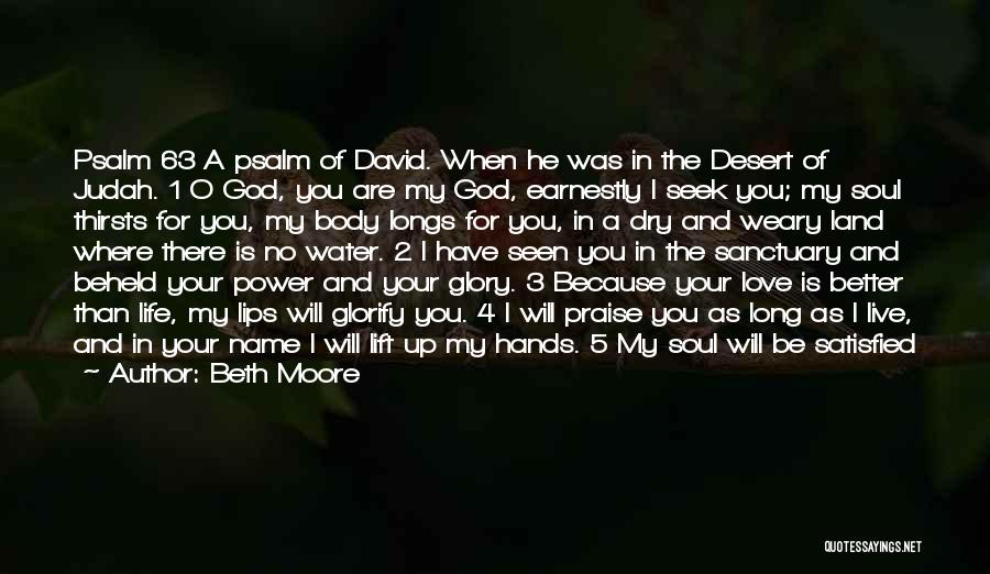Power And Glory Quotes By Beth Moore