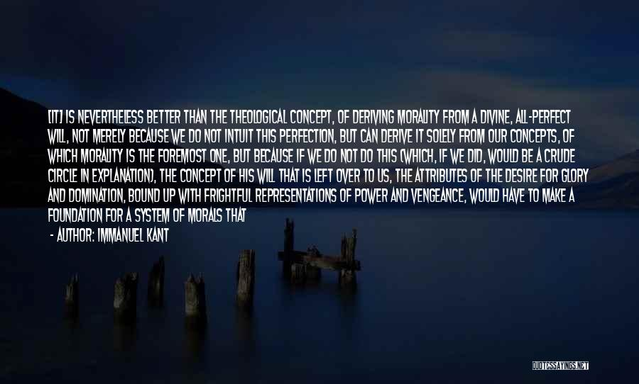 Power And Glory Quotes By Immanuel Kant