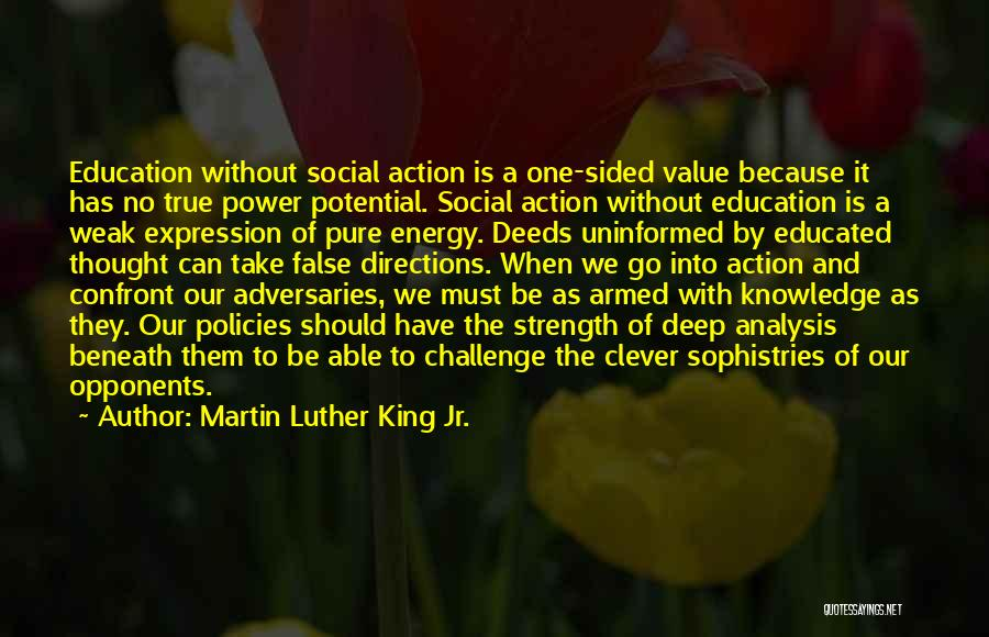 Power And Strength Quotes By Martin Luther King Jr.