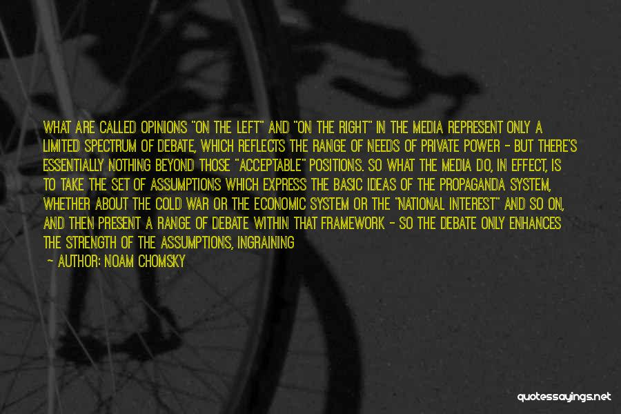 Power And Strength Quotes By Noam Chomsky