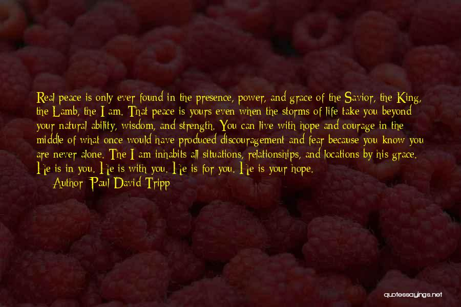 Power And Strength Quotes By Paul David Tripp