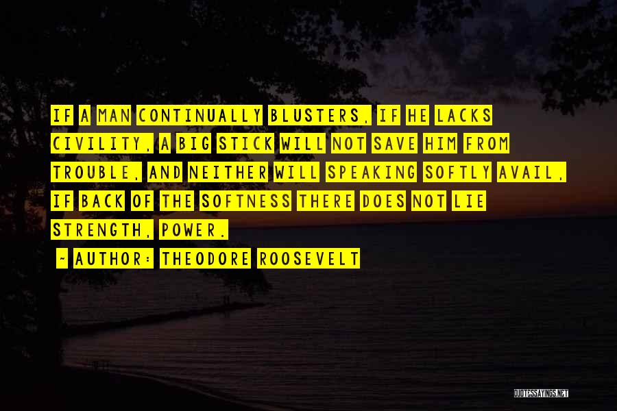 Power And Strength Quotes By Theodore Roosevelt