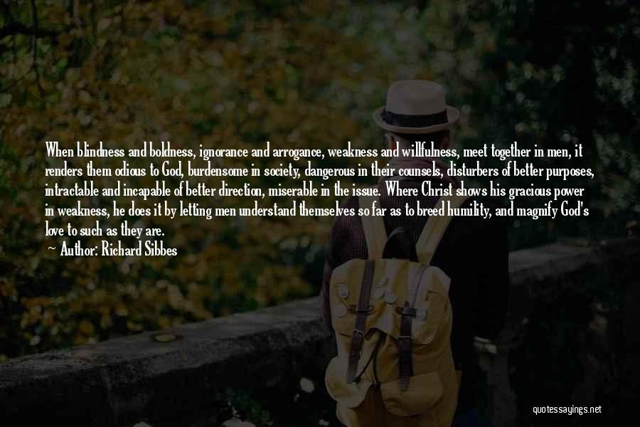 Power Boldness Quotes By Richard Sibbes
