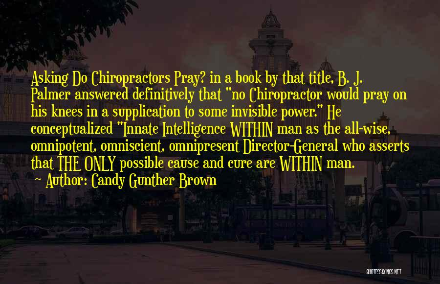 Power In Invisible Man Quotes By Candy Gunther Brown