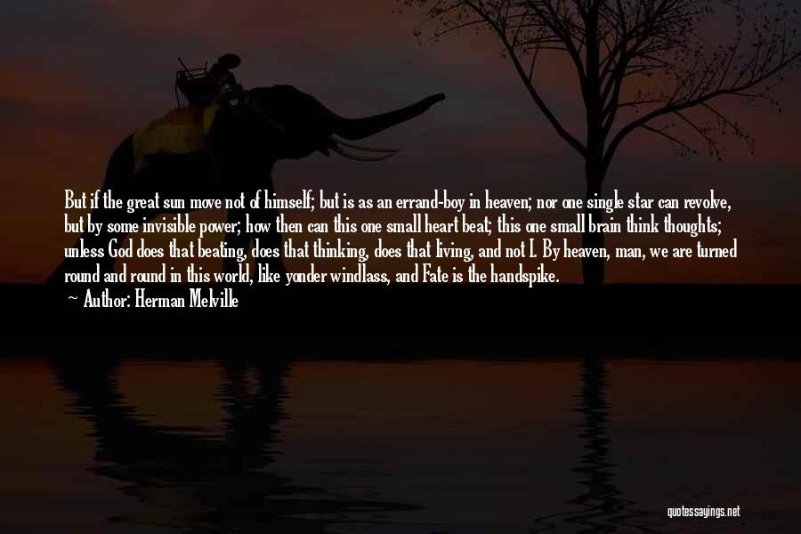 Power In Invisible Man Quotes By Herman Melville