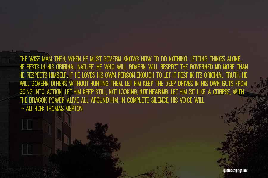 Power In Invisible Man Quotes By Thomas Merton