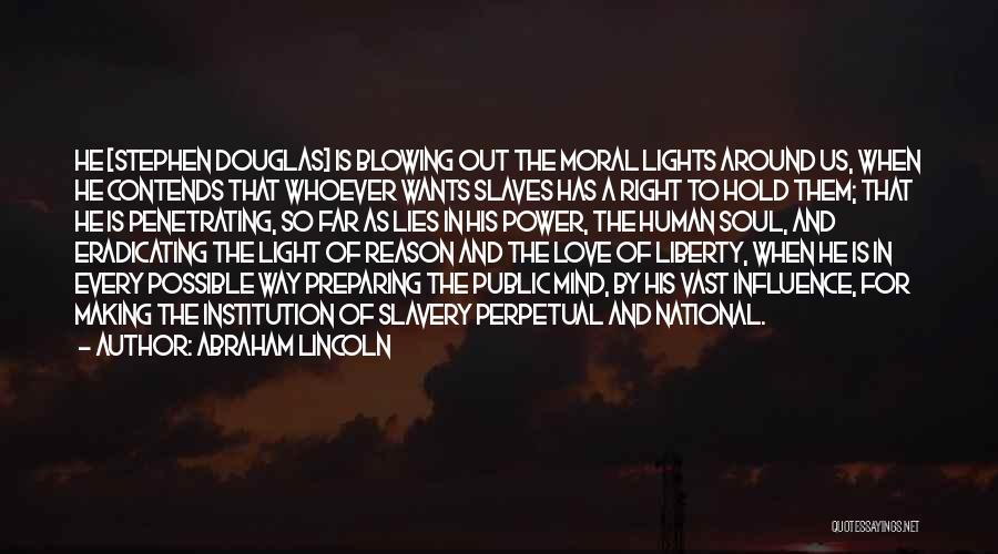 Power Of Human Mind Quotes By Abraham Lincoln