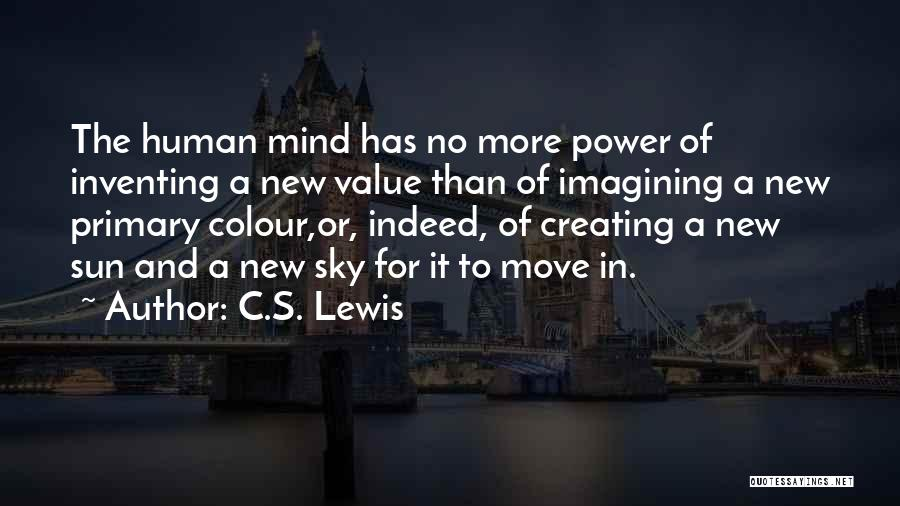 Power Of Human Mind Quotes By C.S. Lewis