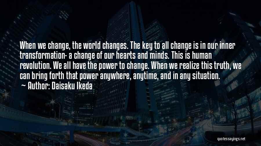 Power Of Human Mind Quotes By Daisaku Ikeda